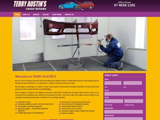 Terry Austin's Crash Repairs