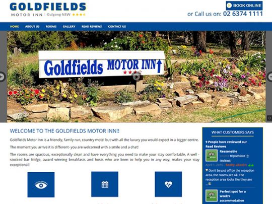 GOLDFIELDS MOTOR INN