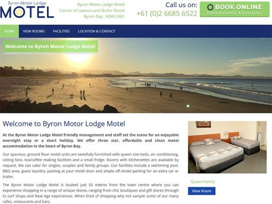 Byron Motor Lodge Motel