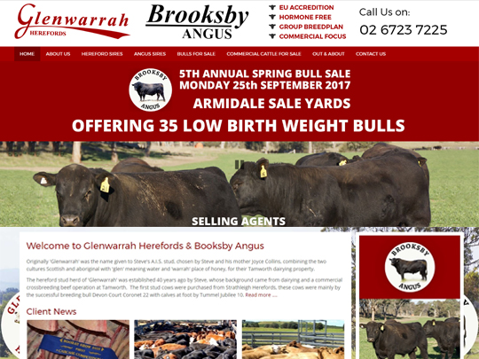 Glenwarrah Herefords & Booksby Angus