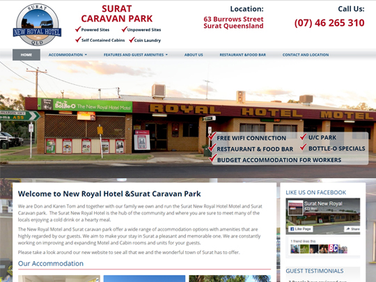 New Royal Hotel & Surat Caravan Park